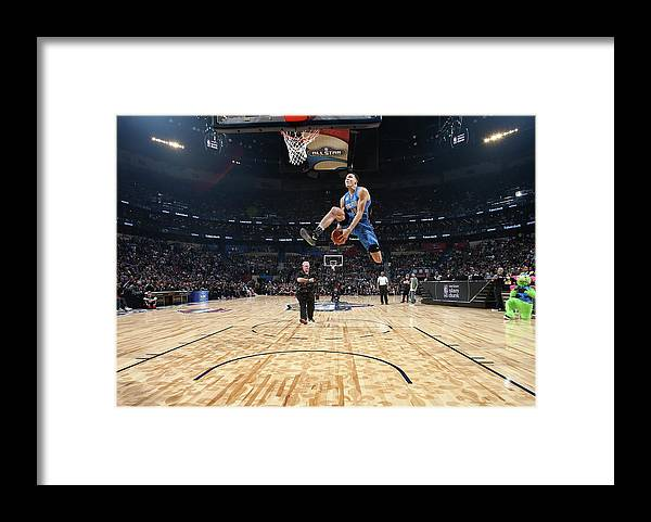 Event Framed Print featuring the photograph Aaron Gordon by Nathaniel S. Butler