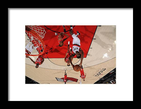 Nba Pro Basketball Framed Print featuring the photograph Al-farouq Aminu by Cameron Browne