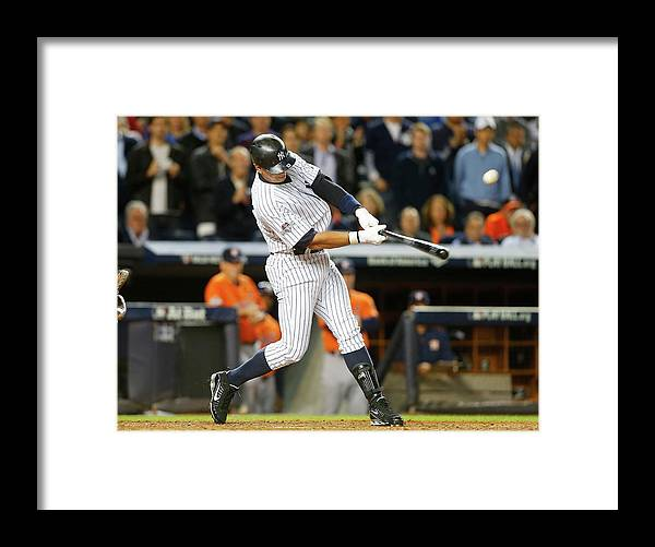 Playoffs Framed Print featuring the photograph Alex Rodriguez by Jim Mcisaac