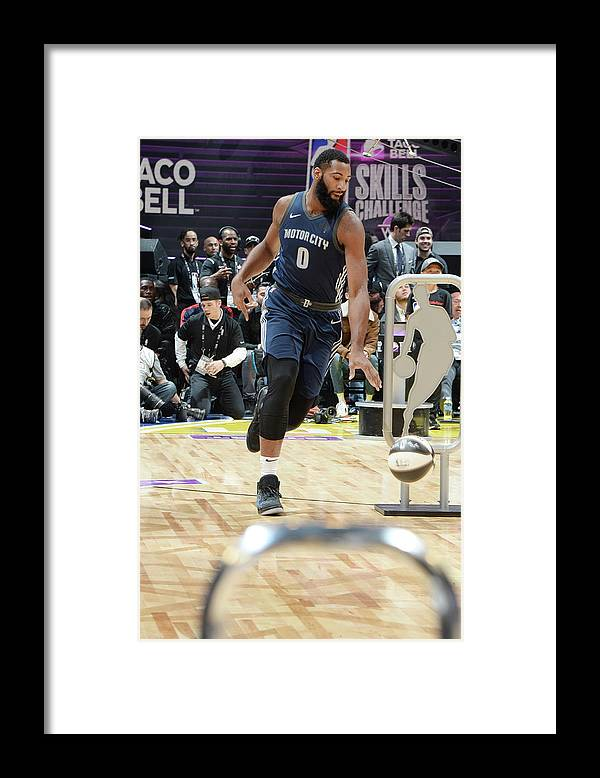 Event Framed Print featuring the photograph Andre Drummond by Andrew D. Bernstein