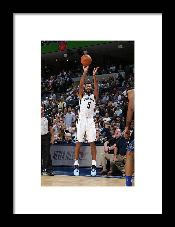 Nba Pro Basketball Framed Print featuring the photograph Andrew Harrison by Joe Murphy