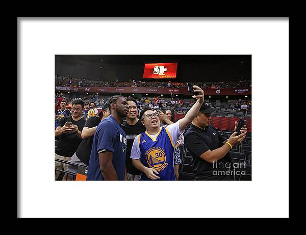 Event Framed Print featuring the photograph Andrew Wiggins by David Sherman