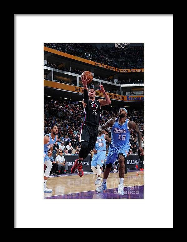 Nba Pro Basketball Framed Print featuring the photograph Austin Rivers by Rocky Widner