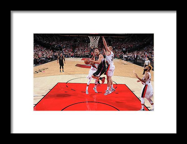 Nba Pro Basketball Framed Print featuring the photograph Blake Griffin by Sam Forencich