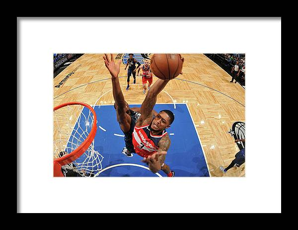 Nba Pro Basketball Framed Print featuring the photograph Bradley Beal by Fernando Medina
