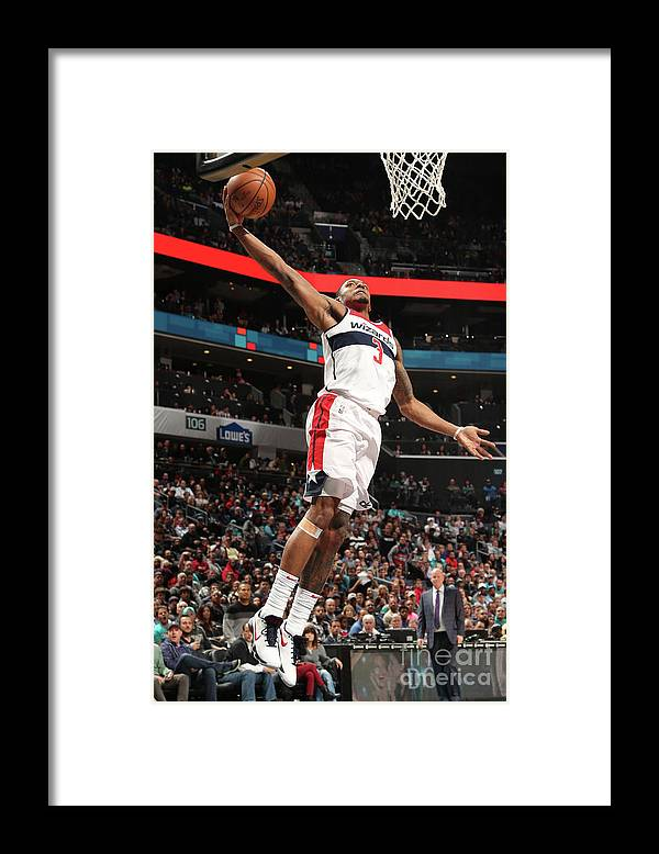 Nba Pro Basketball Framed Print featuring the photograph Bradley Beal by Kent Smith