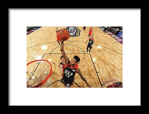 Event Framed Print featuring the photograph Brandon Ingram by Andrew D. Bernstein