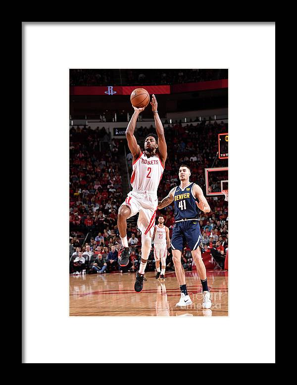 Nba Pro Basketball Framed Print featuring the photograph Brandon Knight by Bill Baptist