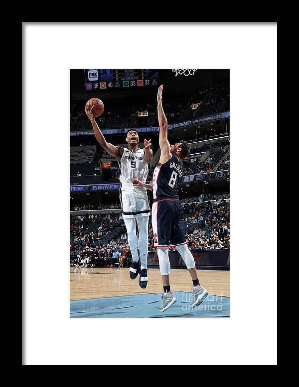 Nba Pro Basketball Framed Print featuring the photograph Bruno Caboclo by Joe Murphy