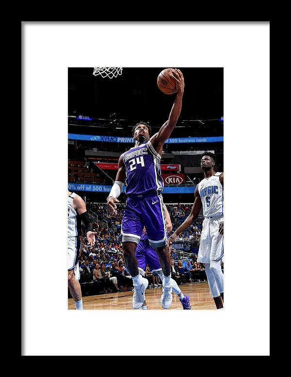 Nba Pro Basketball Framed Print featuring the photograph Buddy Hield by Fernando Medina