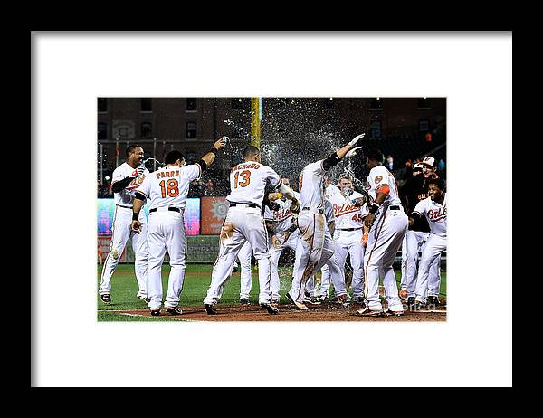 People Framed Print featuring the photograph Chris Davis by Patrick Mcdermott