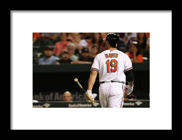 Three Quarter Length Framed Print featuring the photograph Chris Davis by Patrick Smith