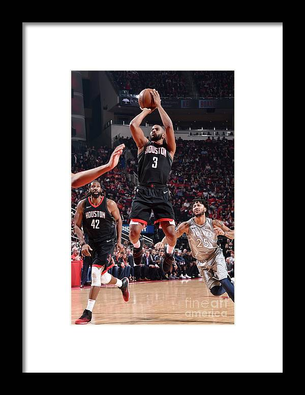 Playoffs Framed Print featuring the photograph Chris Paul by Bill Baptist