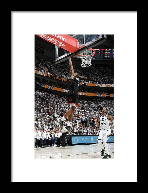 Playoffs Framed Print featuring the photograph Chris Paul by Melissa Majchrzak
