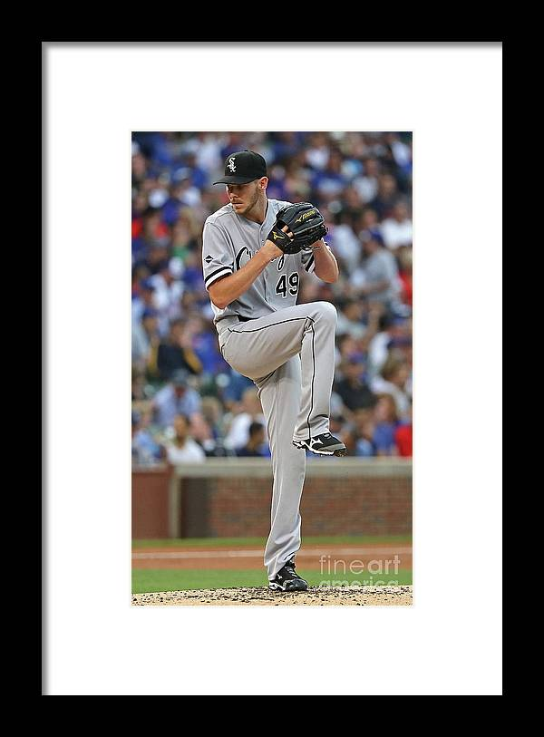 People Framed Print featuring the photograph Chris Sale by Jonathan Daniel