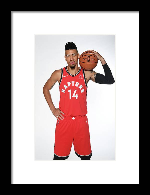 Media Day Framed Print featuring the photograph Danny Green by Ron Turenne