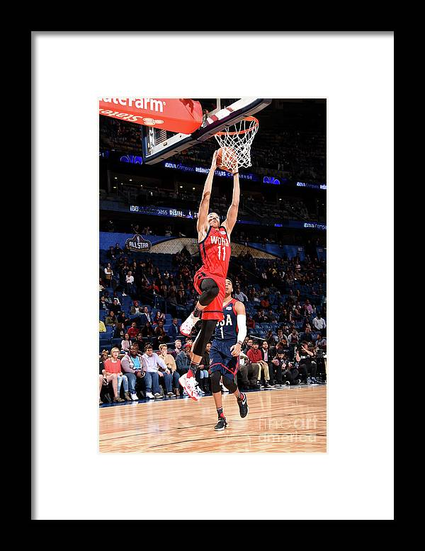 Event Framed Print featuring the photograph Dante Exum by Andrew D. Bernstein
