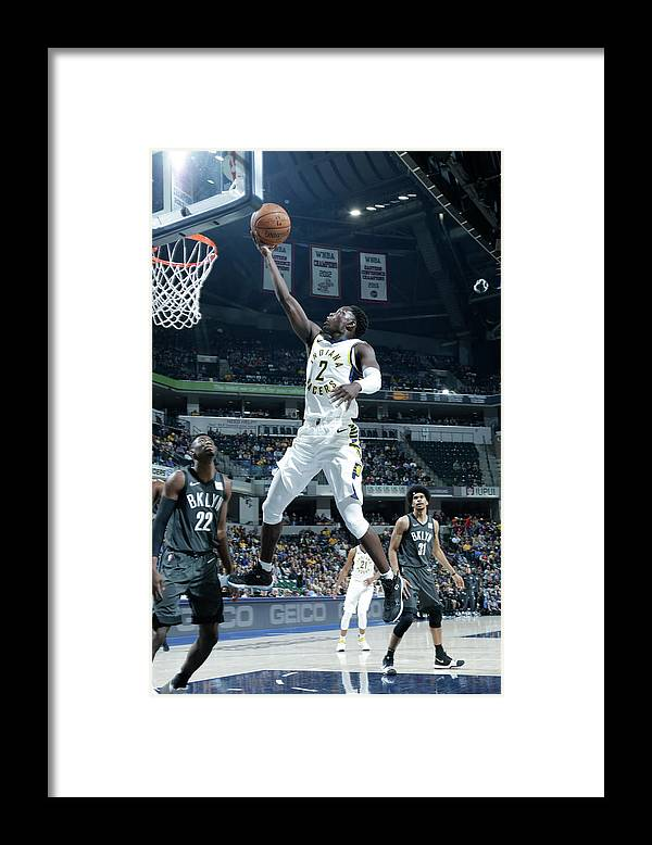 Nba Pro Basketball Framed Print featuring the photograph Darren Collison by Ron Hoskins