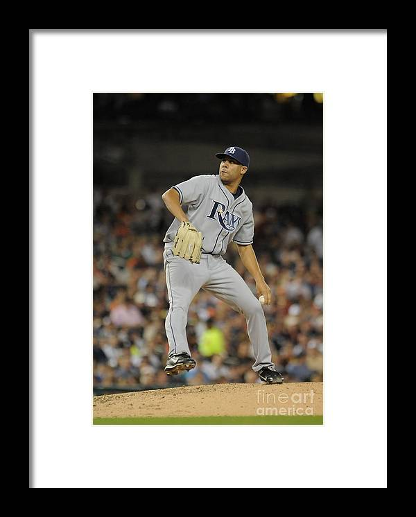 David Price Framed Print featuring the photograph David Price by Mark Cunningham