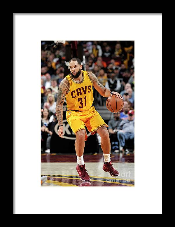 Nba Pro Basketball Framed Print featuring the photograph Deron Williams by David Liam Kyle