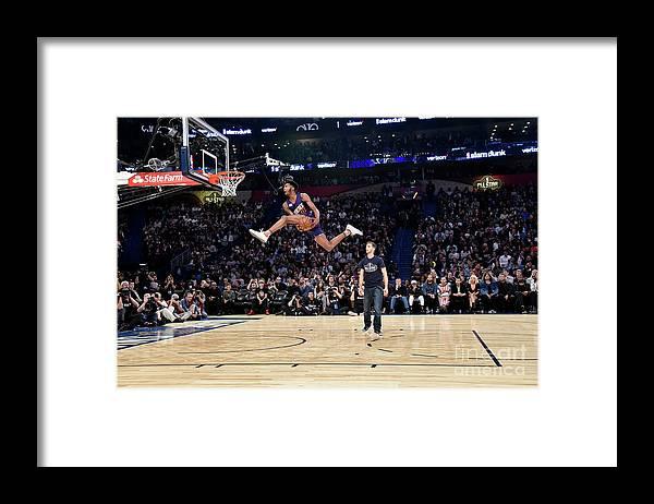 Event Framed Print featuring the photograph Derrick Jones by Bill Baptist