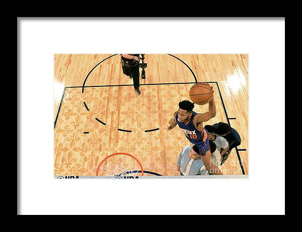 Event Framed Print featuring the photograph Derrick Jones by Jesse D. Garrabrant