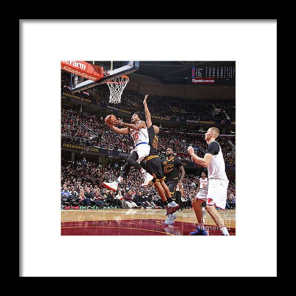 Nba Pro Basketball Framed Print featuring the photograph Derrick Rose by Nathaniel S. Butler
