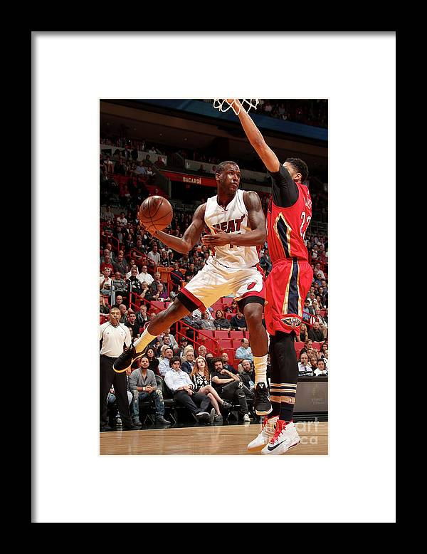 Nba Pro Basketball Framed Print featuring the photograph Dion Waiters by Issac Baldizon