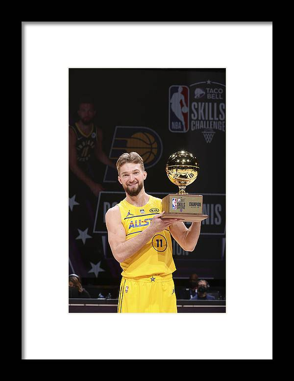 Atlanta Framed Print featuring the photograph Domantas Sabonis by Nathaniel S. Butler
