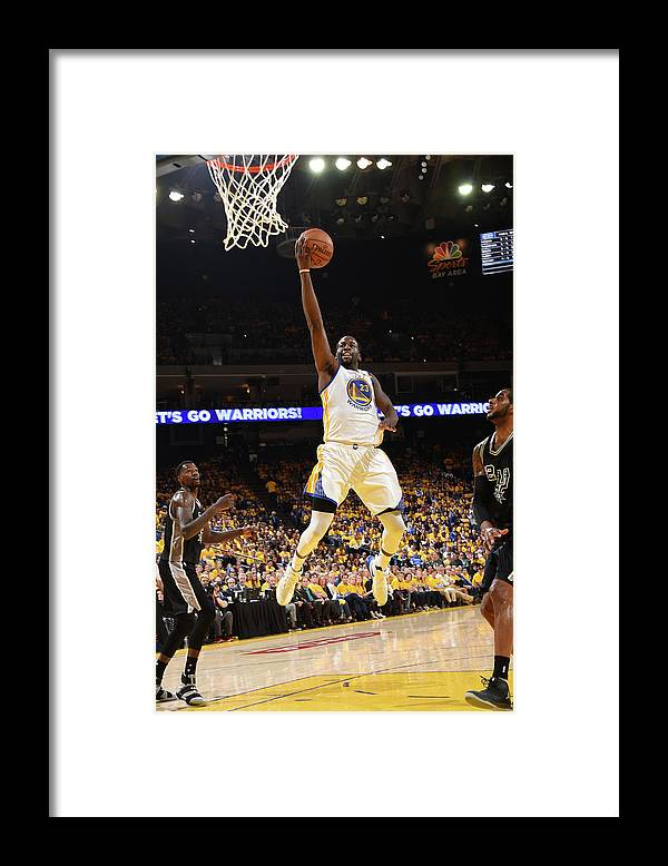 Playoffs Framed Print featuring the photograph Draymond Green by Andrew D. Bernstein
