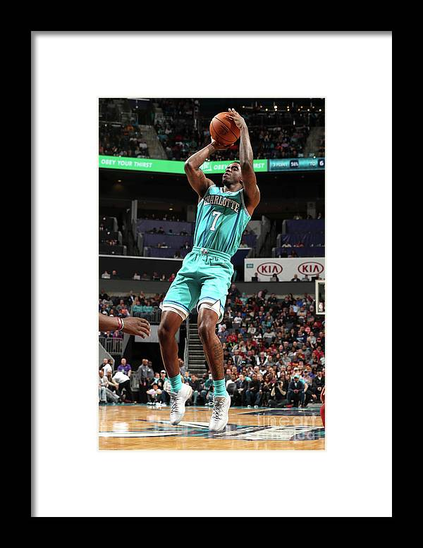 Nba Pro Basketball Framed Print featuring the photograph Dwayne Bacon by Kent Smith