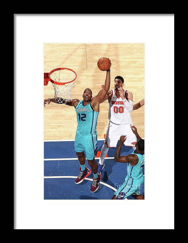 Nba Pro Basketball Framed Print featuring the photograph Dwight Howard by Nathaniel S. Butler