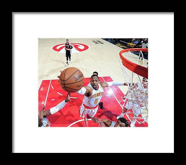 Atlanta Framed Print featuring the photograph Dwight Howard by Scott Cunningham