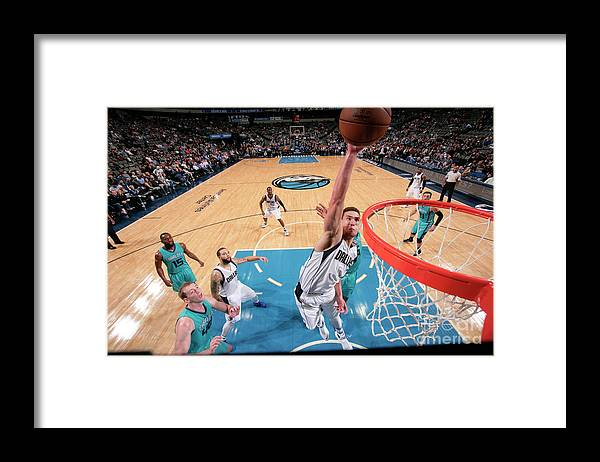 Dwight Powell Framed Print featuring the photograph Dwight Powell by Glenn James