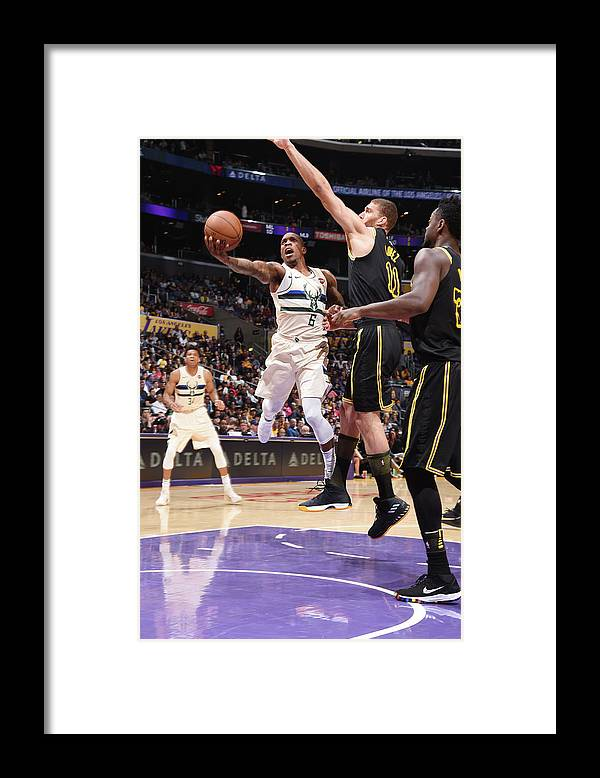 Nba Pro Basketball Framed Print featuring the photograph Eric Bledsoe by Andrew D. Bernstein