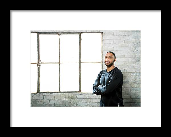 Nba Pro Basketball Framed Print featuring the photograph Eric Gordon by Nathaniel S. Butler