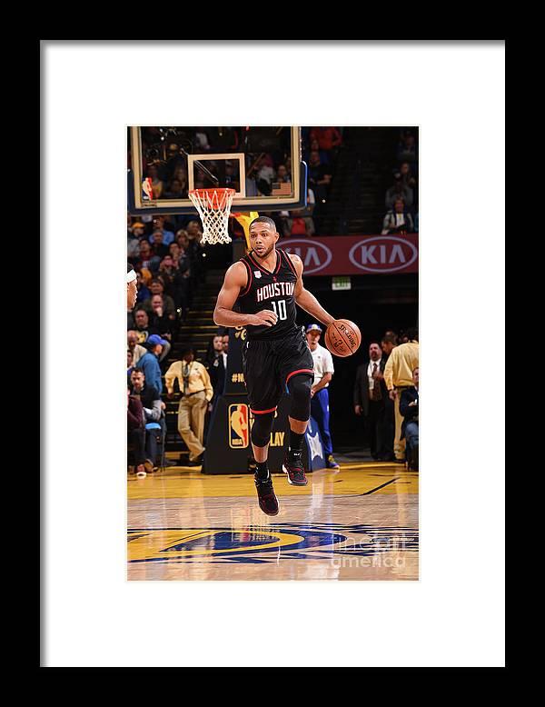 Nba Pro Basketball Framed Print featuring the photograph Eric Gordon by Noah Graham