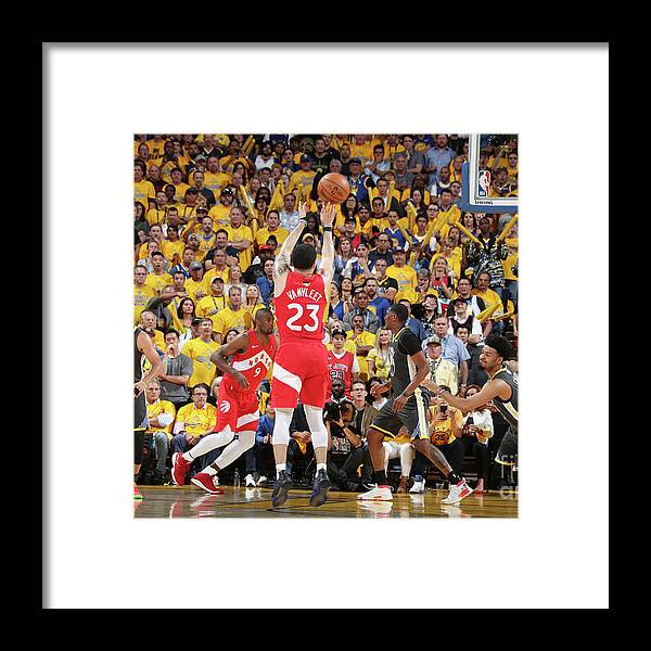 Playoffs Framed Print featuring the photograph Fred Vanvleet by Nathaniel S. Butler