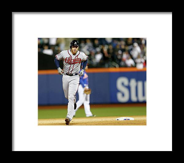 Residential District Framed Print featuring the photograph Freddie Freeman by Elsa