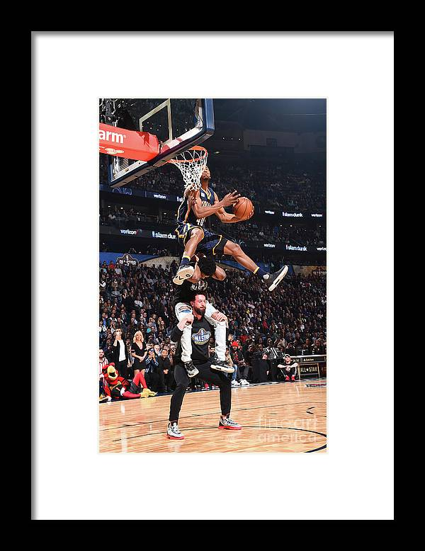 Event Framed Print featuring the photograph Glenn Robinson by Andrew D. Bernstein
