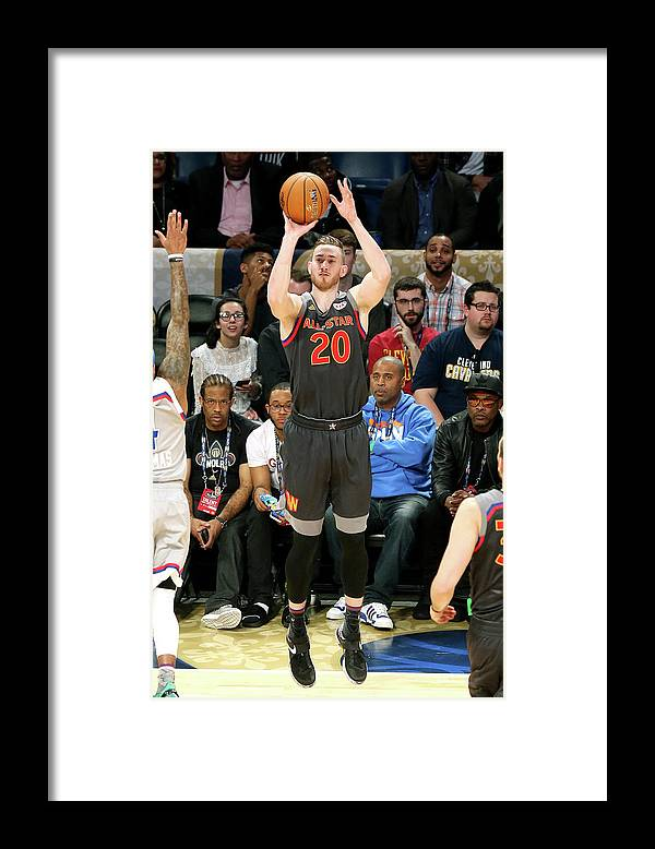 Event Framed Print featuring the photograph Gordon Hayward by Layne Murdoch