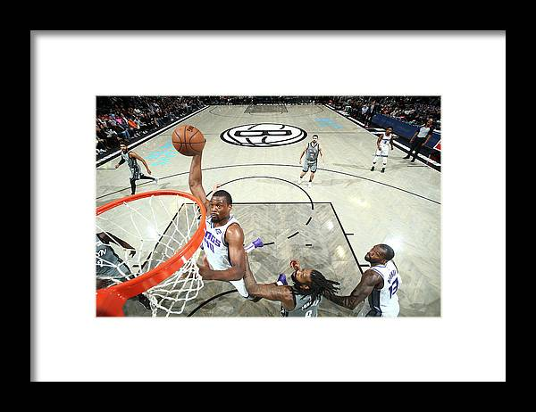 Nba Pro Basketball Framed Print featuring the photograph Harrison Barnes by Nathaniel S. Butler