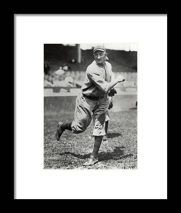 Sports Ball Framed Print featuring the photograph Honus Wagner by National Baseball Hall Of Fame Library
