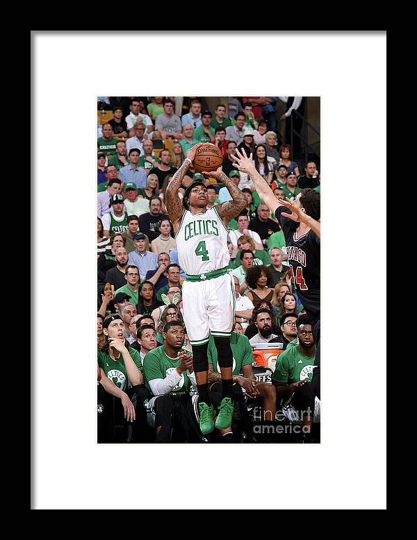 Playoffs Framed Print featuring the photograph Isaiah Thomas by Brian Babineau