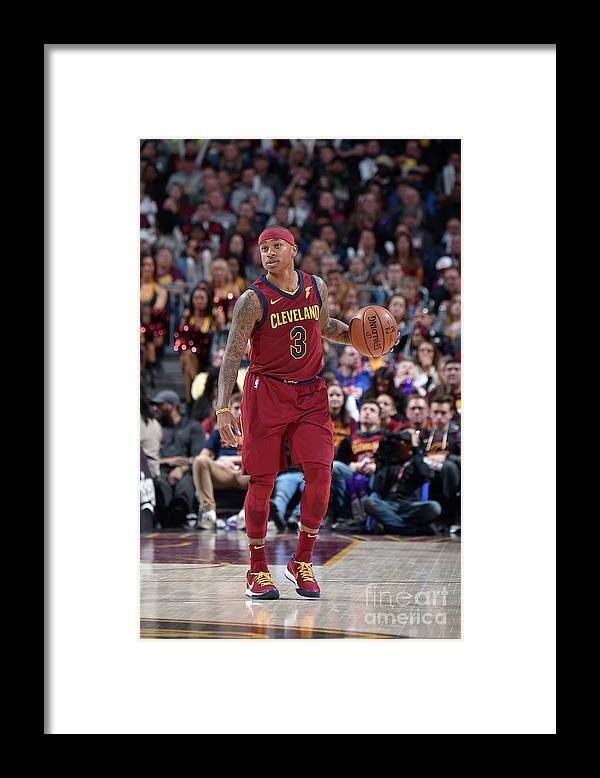 Nba Pro Basketball Framed Print featuring the photograph Isaiah Thomas by David Liam Kyle