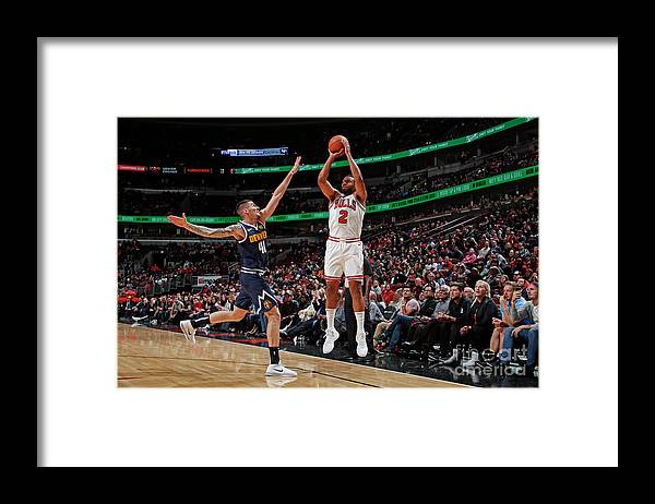 Nba Pro Basketball Framed Print featuring the photograph Jabari Parker by Jeff Haynes