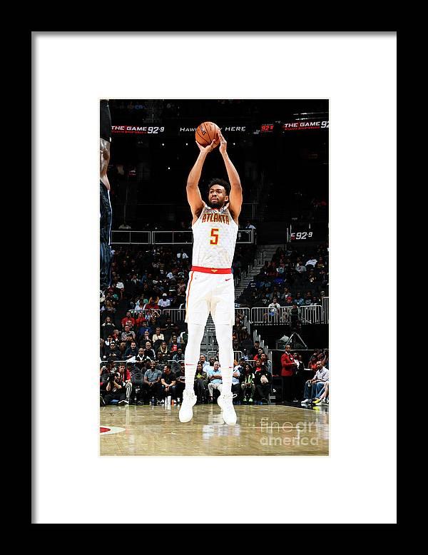 Atlanta Framed Print featuring the photograph Jabari Parker by Scott Cunningham