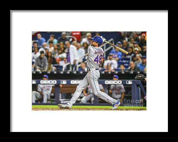 Jacob Degrom Framed Print featuring the photograph Jacob Degrom by Mark Brown