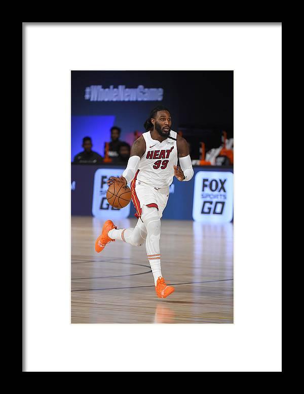 Nba Pro Basketball Framed Print featuring the photograph Jae Crowder by Bill Baptist