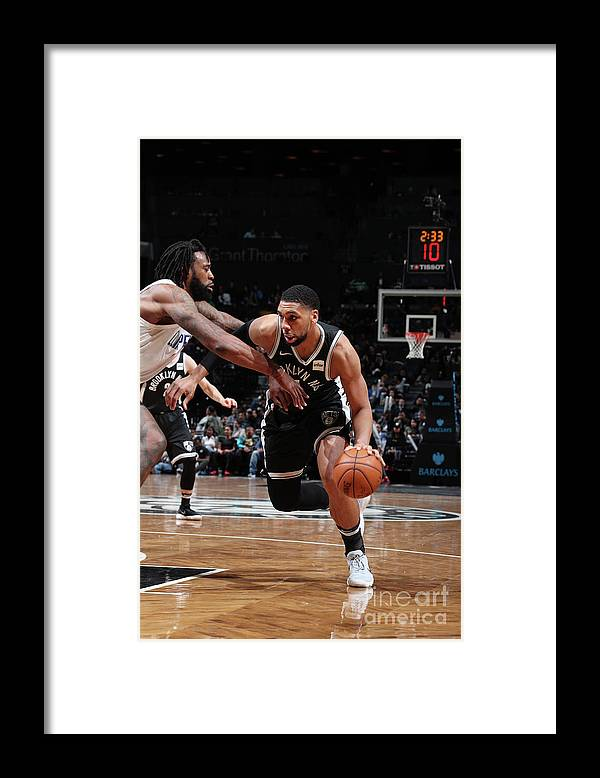 Nba Pro Basketball Framed Print featuring the photograph Jahlil Okafor by Nathaniel S. Butler